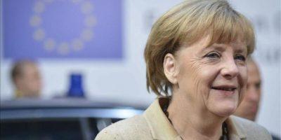 La canciller alemana, Angela Merkel, a su llegada al segundo día de la cumbre de jefes de Estado y de Gobierno de la Unión Europea, en Bruselas (Bélgica). EFE