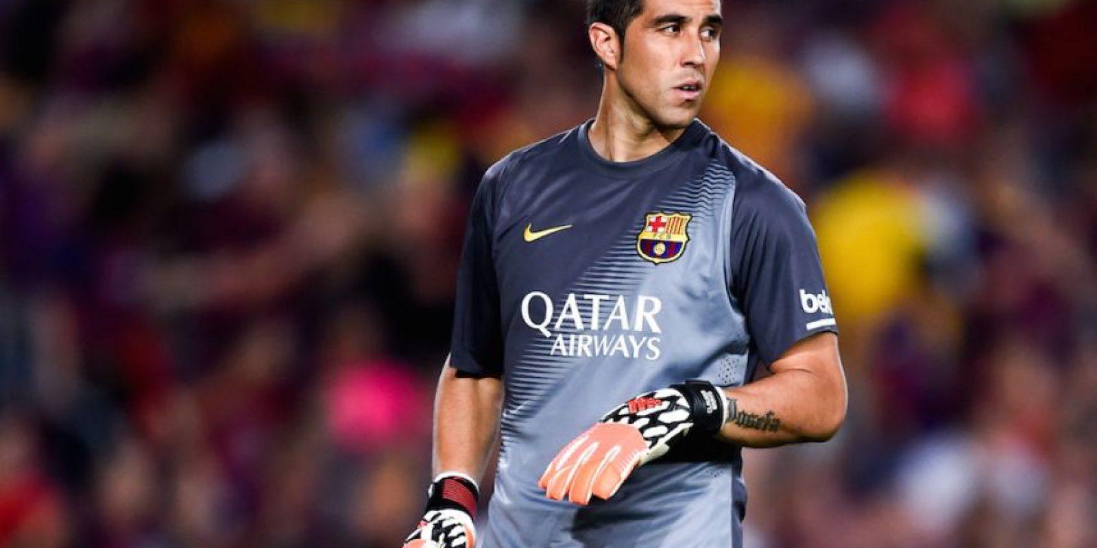 Claudio Bravo (Barcelona) Foto:Getty Images