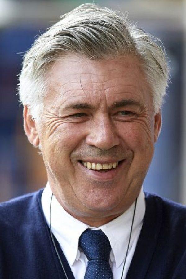 Carlo Ancelotti, director técnico del Real Madrid. Foto:Getty Images