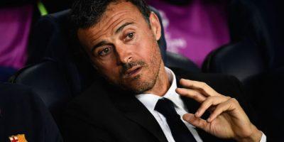 Luis Enrique, estratega del Barcelona. Foto:Getty Images