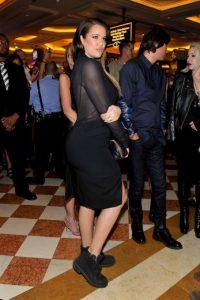 Así lució Khloe Kardashian Foto:Getty Images