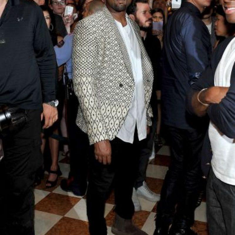 Kanye acompañó a su esposo en su gran celebración Foto:Getty Images