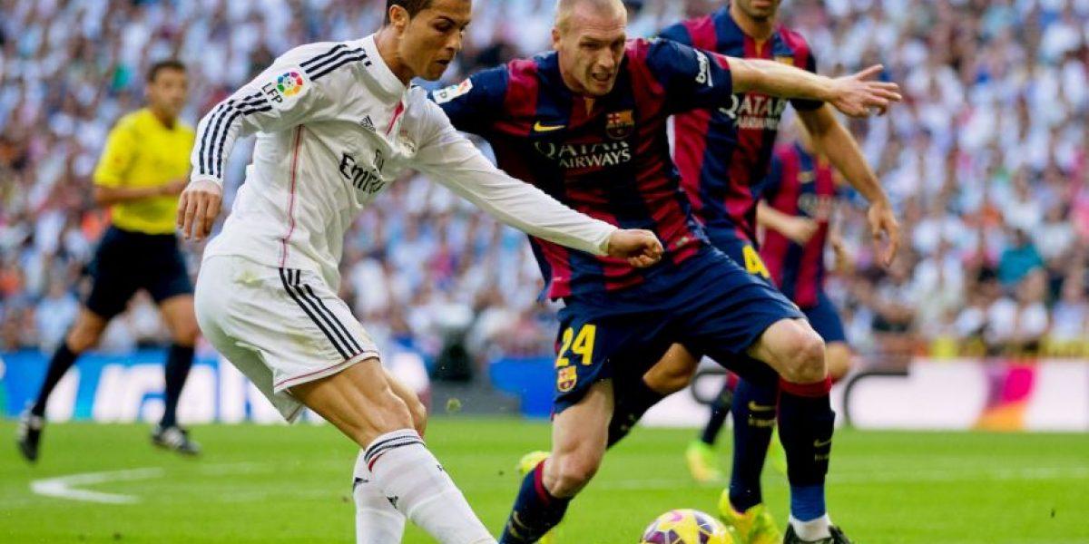 Sí le dolió: El terrible pelotazo que Cristiano Ronaldo recibió de Dani Alves