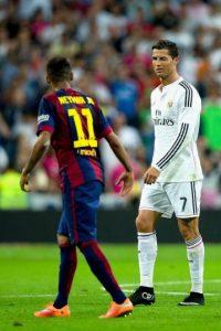 Despidiéndose de Neymar. Foto:Getty Images