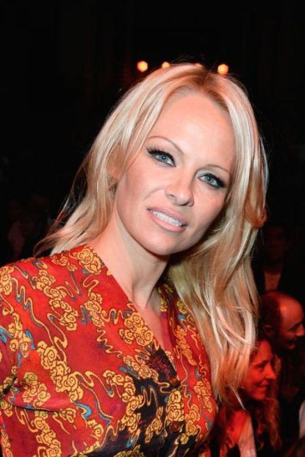 Esta imagen es de Pamela Anderson en 2013 Foto:Getty Images