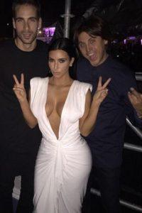La socialité disfrutó de la celebración Foto:Instagram @kimkardashian