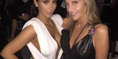 Kim y su amiga Cici Bussey Foto:Instagram @kimkardashian
