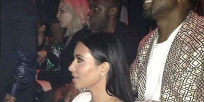 Kim con su esposo Kanye West Foto:Instagram @cicibussey