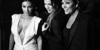 Kim, Khloe y Kris Jenner Foto:Instagram @mikesnedeger
