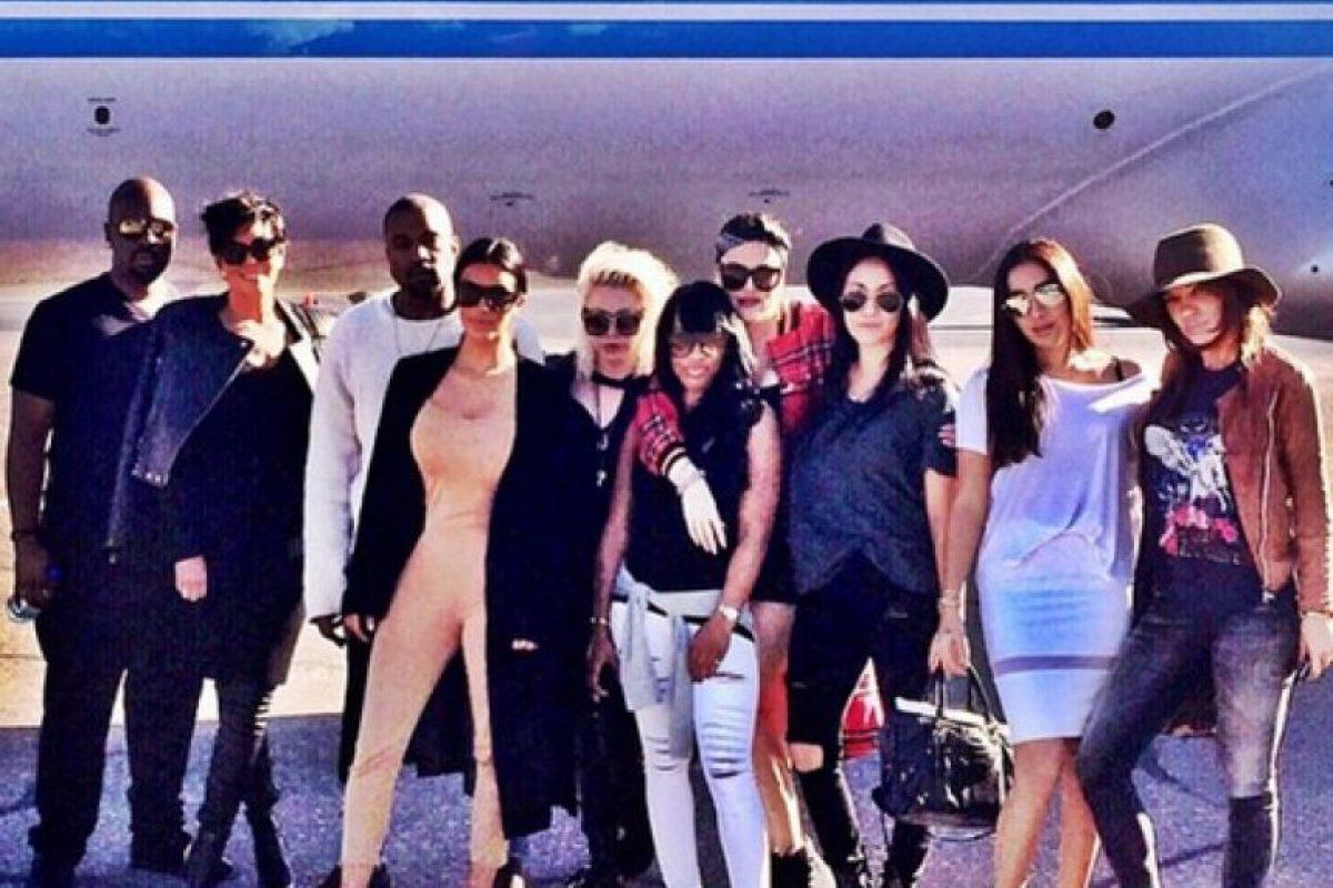 Sus invitados recibieron los mismos lujos que la socialité Foto:Instagram @kimkardashian