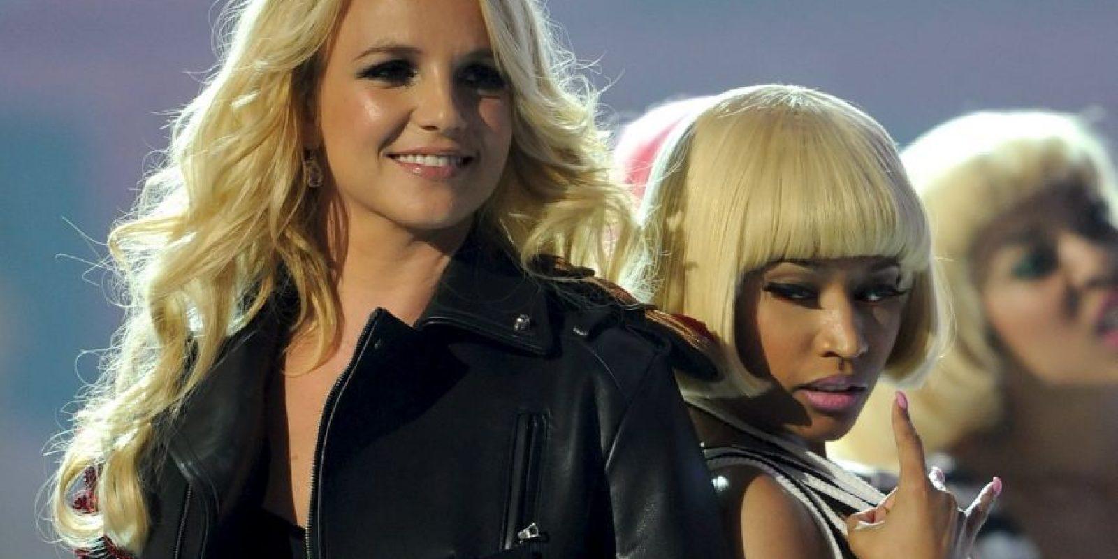 """En 2001 lanzó su tercer álbum, """"Britney"""", del que se desprendió """"I'm a Slave 4 U"""" Foto:Getty Images"""