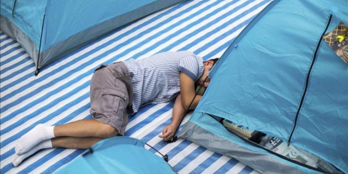 ¿Lazo azul o amarillo? Las protestas dividen a la sociedad hongkonesa