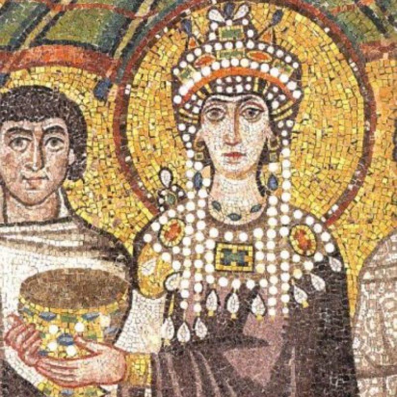 Teodora, Imperio Bizantino. De prostituta pasó a ser emperatriz. Foto:Wikipedia