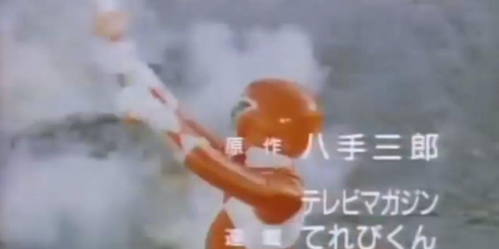 Y las mismas armas de uso personal Foto:Tv Asahi