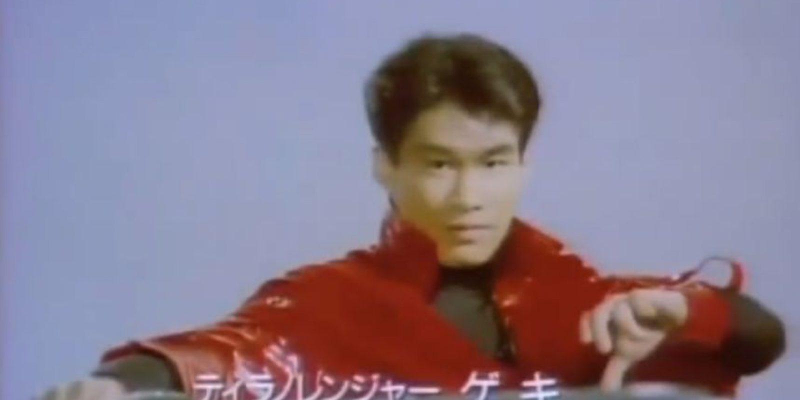 """Eran cinco y hacían parte de la serie """"Super Sentai"""" Foto:Tv Asahi"""
