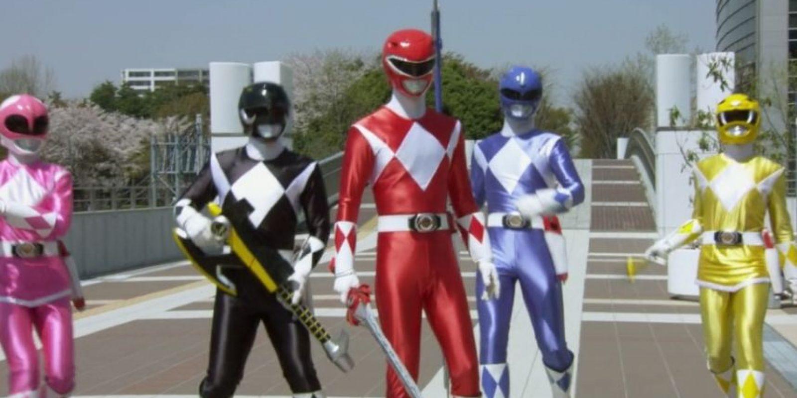 Los Power Rangers americanos (adaptados en los 90) marcaron a toda una generación de niños y jóvenes Foto:Saban