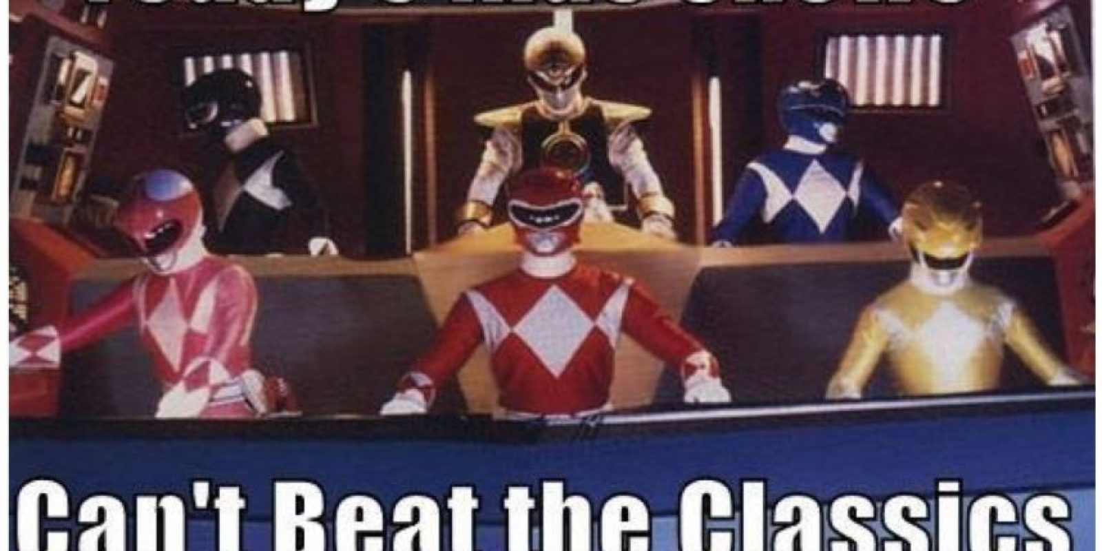 Esto fue lo mejor que nos dejó Power Rangers Foto:The Original Power Rangers/Tumblr