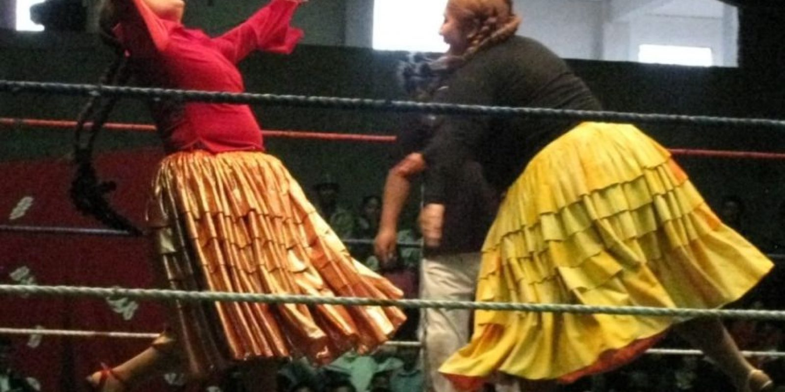 Sobre todo por su espectáculo en lucha libre Foto:Goxippix