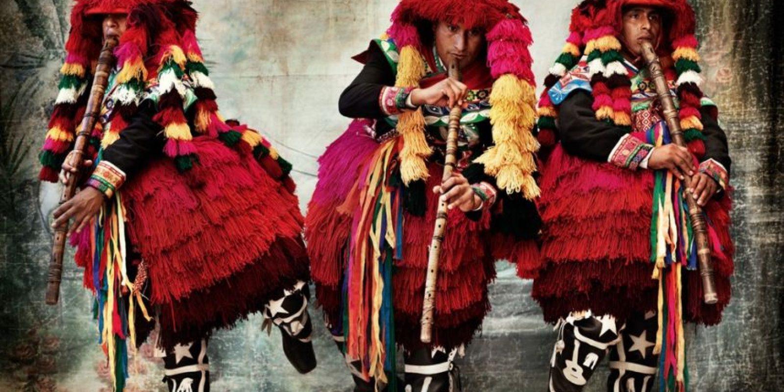 Y otras comunidades de Cuzco Foto:Mario Testino