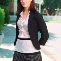 Alexis Bledel (Rory Gilmore) antes