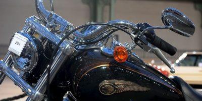 Motocicleta firmada por el Papa Francisco Foto:Getty Images