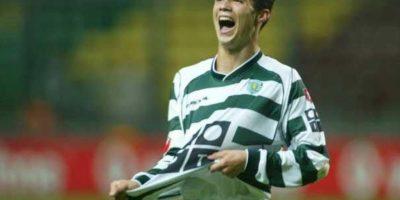 Cristiano Ronaldo debutó con el Sporting de Lisboa a los 17 años Foto:Getty