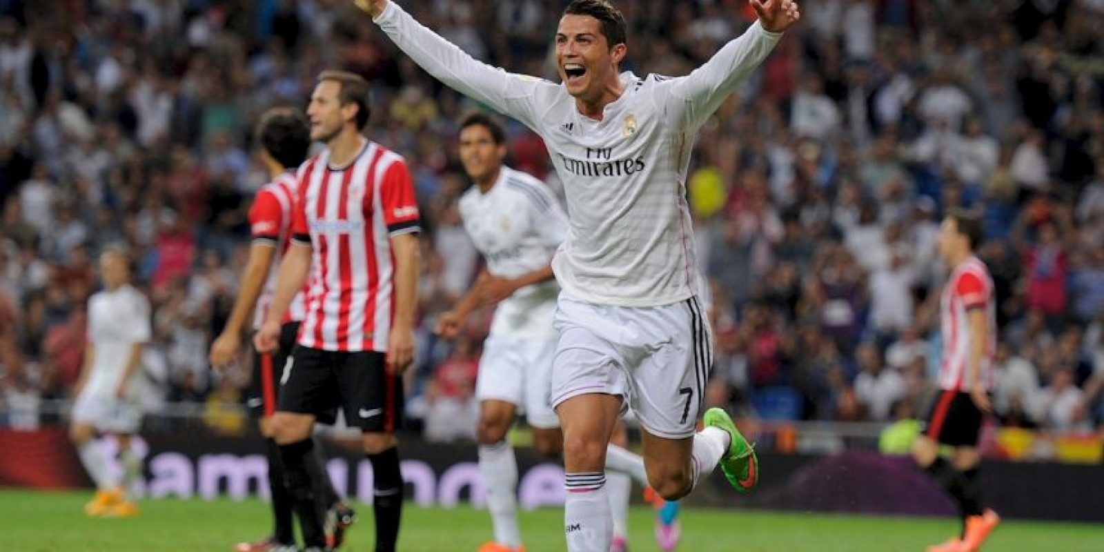 CR7 ahora tiene 29 años y es el líder del Real Madrid Foto:Getty