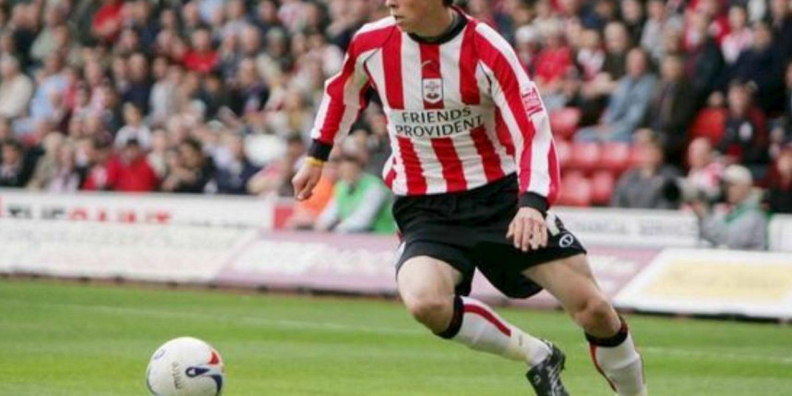 Gareth Bale debuto a los 16 años con el Southampton de Inglaterra Foto:Getty