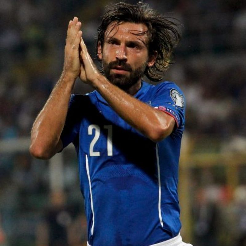 Ahora es el símbolo del balompié italiano a sus 35 años Foto:Getty