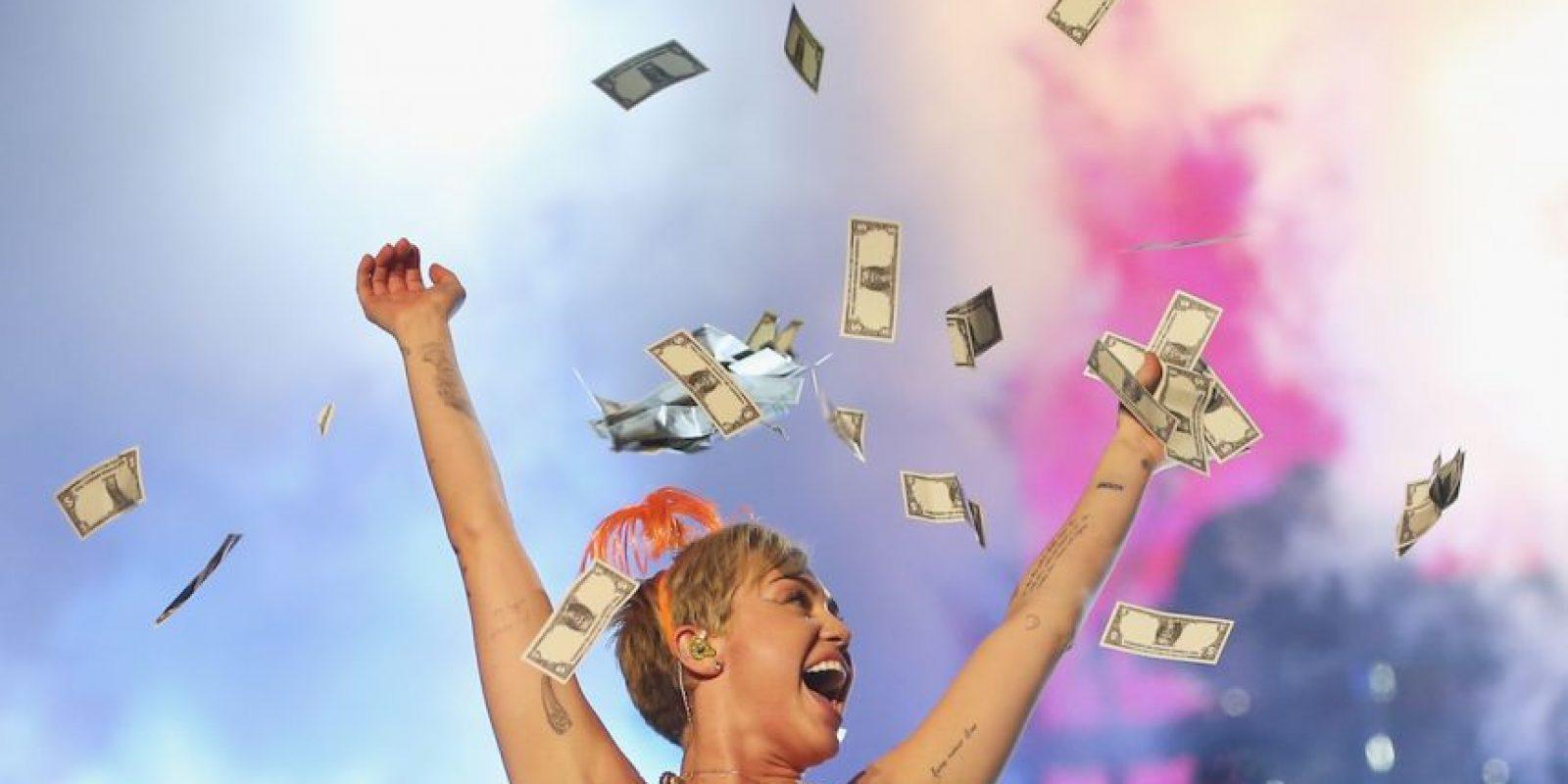 Antes de esta carta, Miley consideraba a Sinead O' Connor como un modelo a seguir. Foto:Getty Images