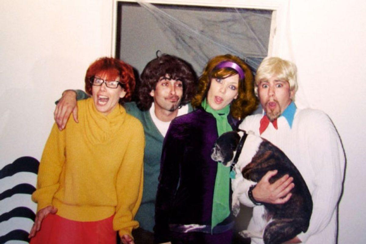 """El elenco de """"Scooby Doo"""" Foto:Reddit"""