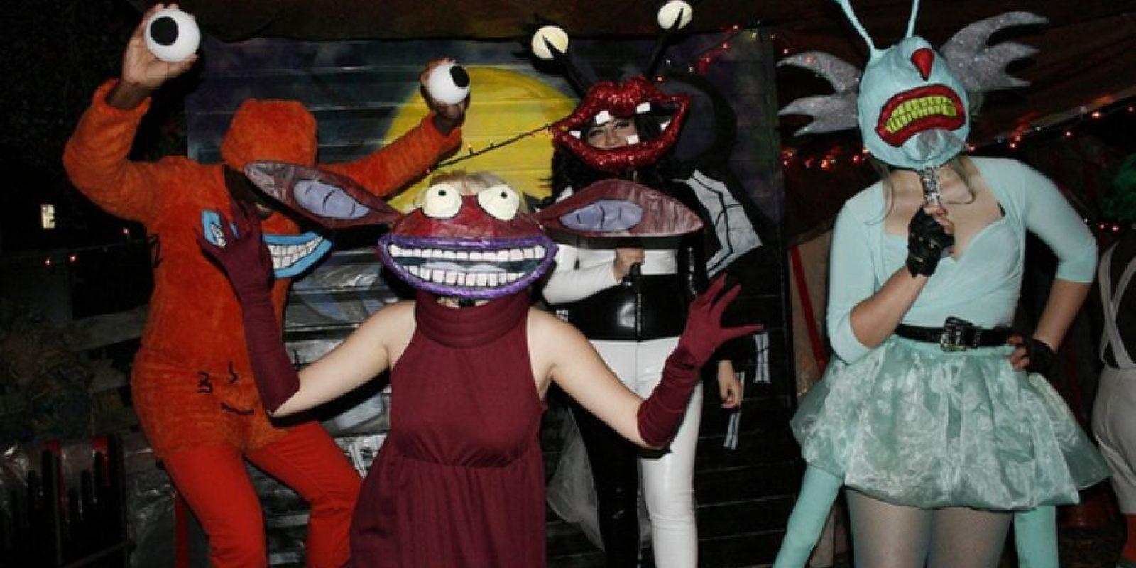 """El elenco de """"Ay, Monstruos"""" Foto:Reddit"""