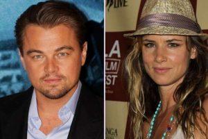 Leonardo Di Caprio y Juliette Lewis. Juliette fue la primera novia famosa que se le conoció al actor en 1993 cuando seducía con su cara de niño. Foto:Getty Images