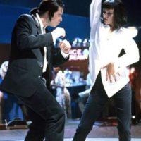 """""""Mia Wallace"""" (Uma Thurman) y """"Vincent Vega"""" (John Travolta) en """"Pulp Fiction"""" Foto:IMDB"""