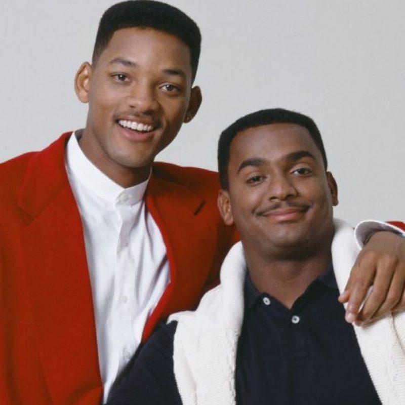 """""""Will"""" y """"Carlton"""" de """"El príncipe del rap"""" Foto: IMDB"""