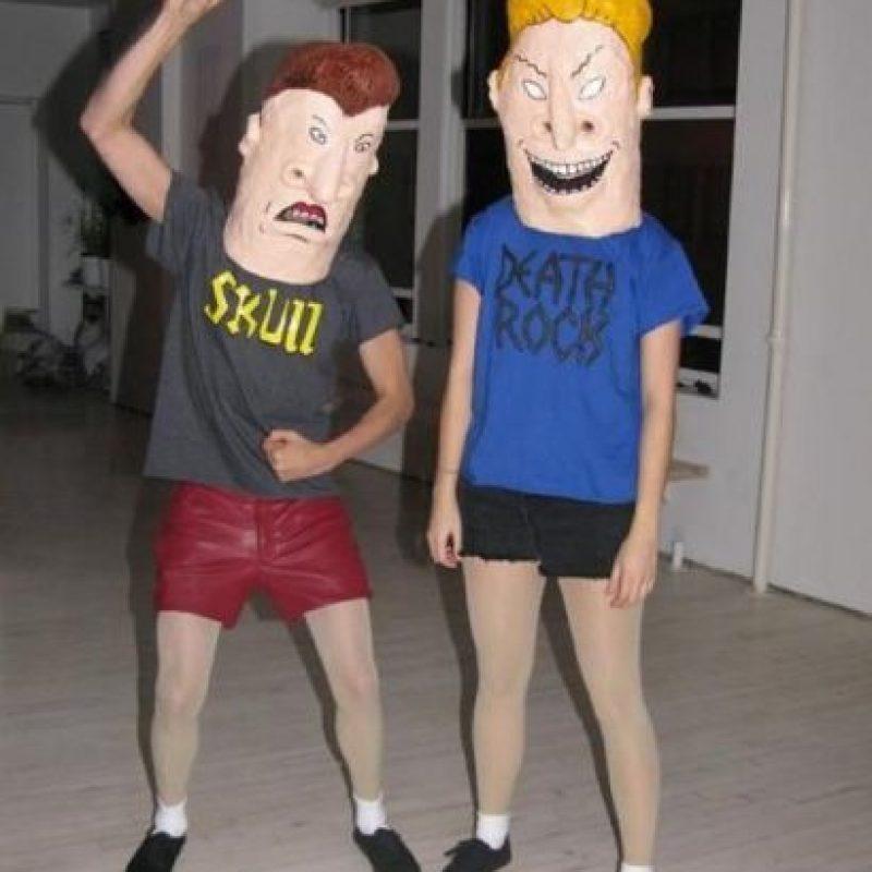 """""""Beavis & Butthead"""" Foto:Reddit"""