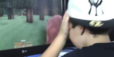 Ellos se la pasan jugando videojuegos, pero son agresivos Foto:Niño Rata Rap/Youtube