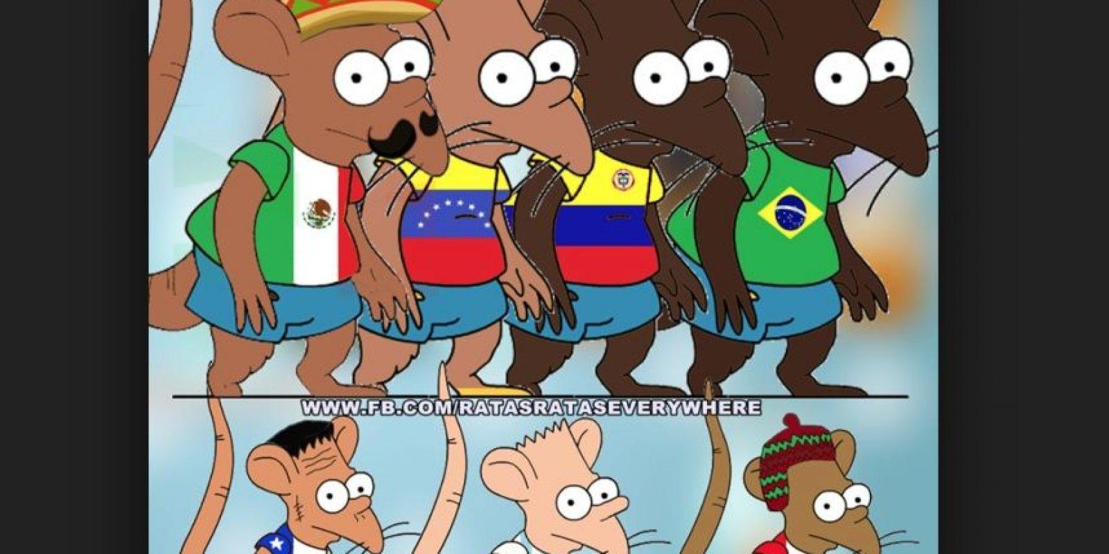 De hecho, hay muchos memes burlándose de este Foto:Taringa