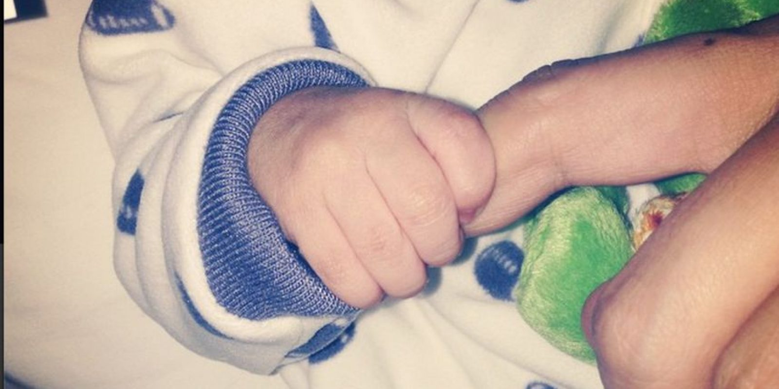Hace unos días Ninel compartió la mano de su bebé Foto:Instagram @ninelconde