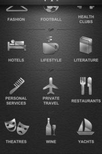 Existen aplicaciones exclusivas para millonarios. Foto:Captura iTunes Store