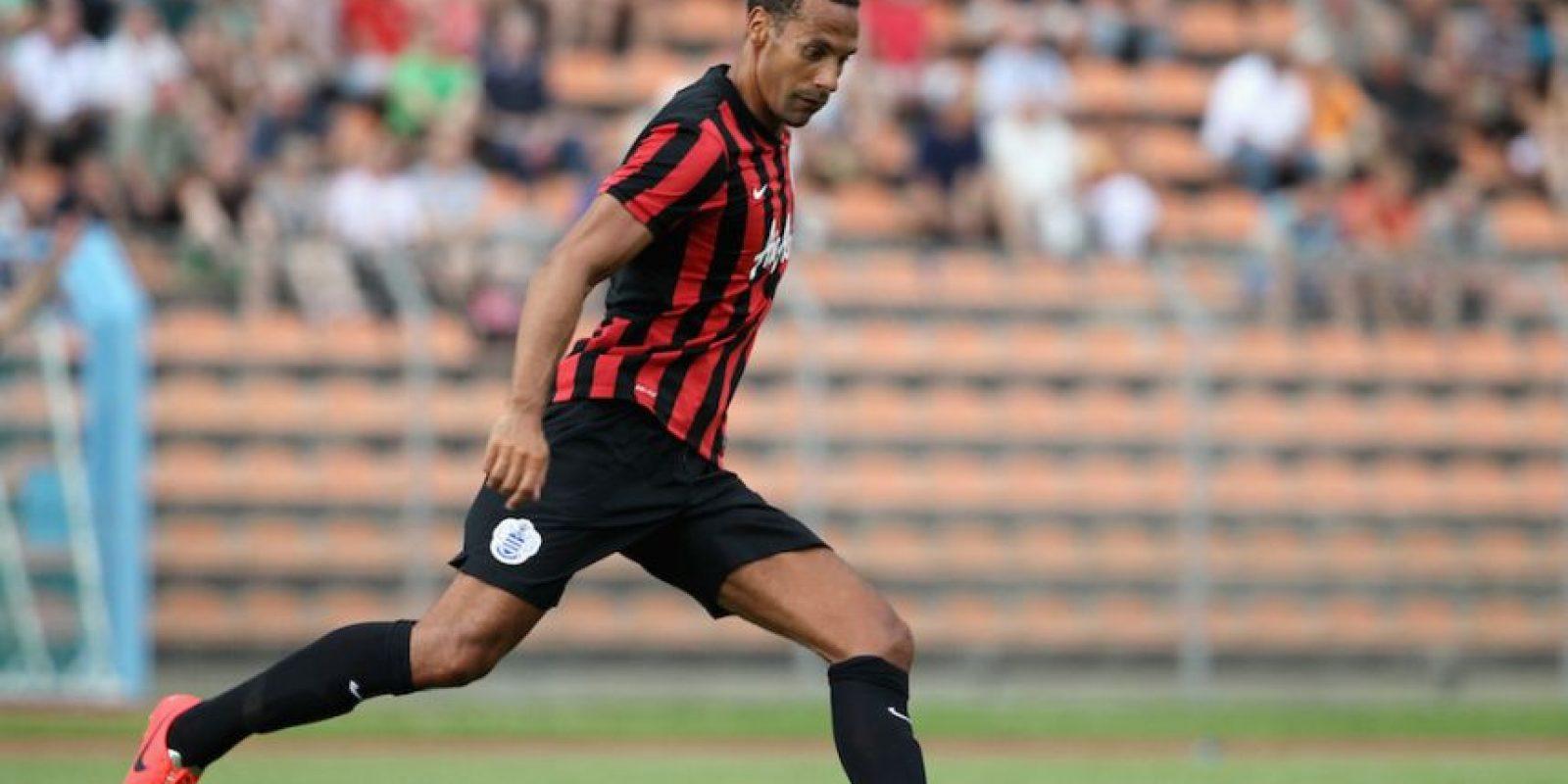 Ferdinand tiene 35 años de edad. Foto:Getty Images