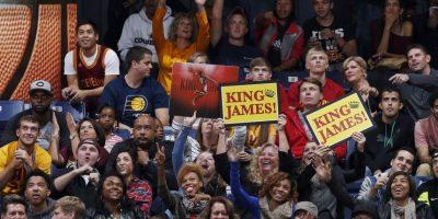 Así han celebrado el retorno de James en los partidos de pretemporada Foto:Getty