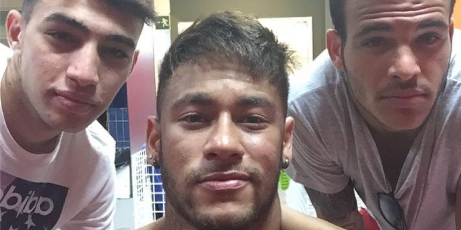 El brasileño indicó que su ganancia en musculatura es para rendir mejor en la cancha Foto:Instagram: @neymarjr