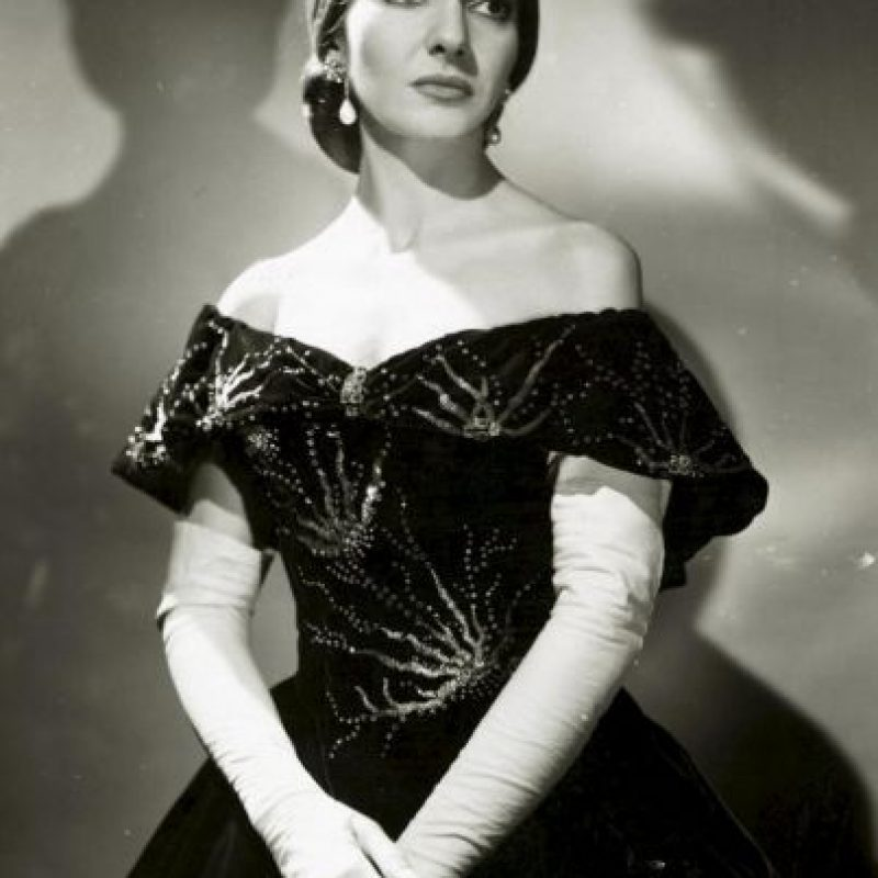 El cadáver de María Callas fue robado Foto:Wikipedia