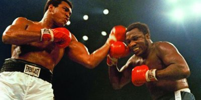1. Thrilla in Manila Foto: Getty