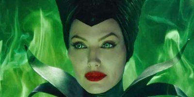 """Encarnó a la bruja de la """"Bella Durmiente"""", Maléfica Foto:Disney"""