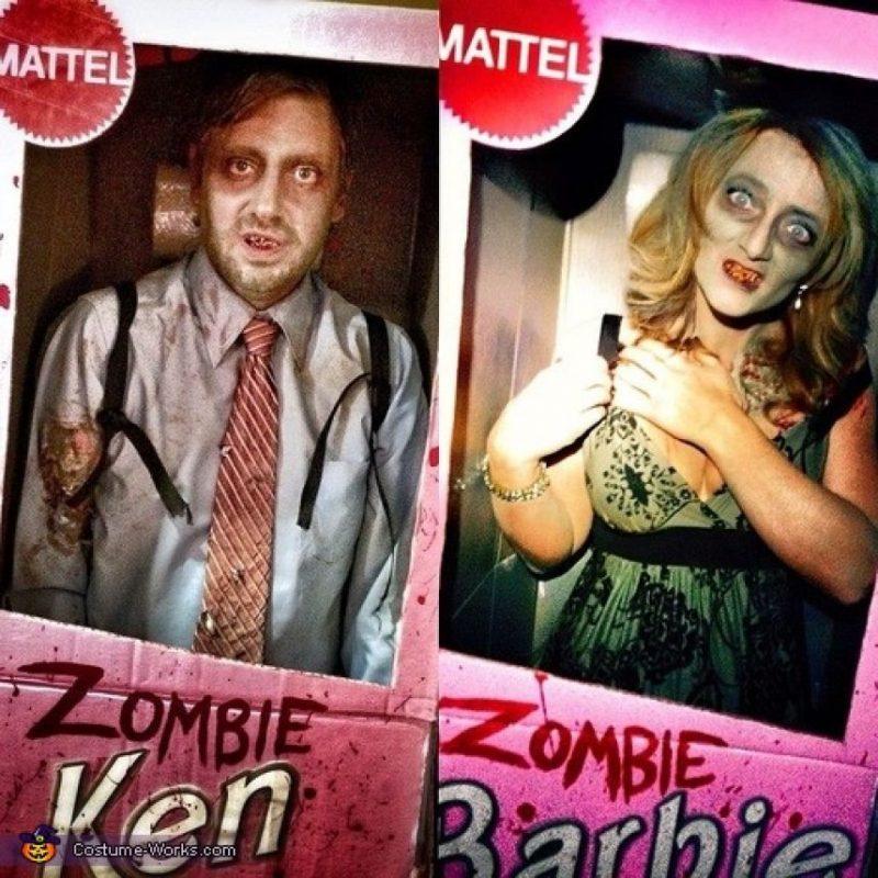 Ken y Barbie versión zombi Foto:costume-works.com