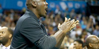 Los Hornets de Jordan ganaron en su juego de debut de esta temporada a los Bucks Foto:Getty