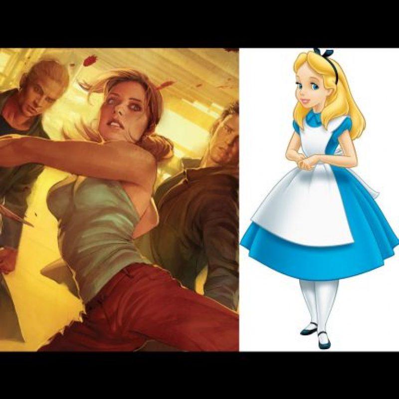 """Buffy, la cazavampiros"" + ""Alicia"" Foto:Wikipedia / IMDB"