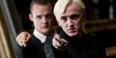 Draco y Crabbe, su secuaz. Foto:Warner Bros.